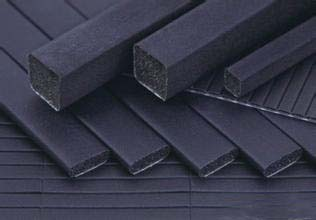 Carbon fabric over foam