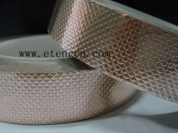Embossed Copper Foil Adhesive Tape